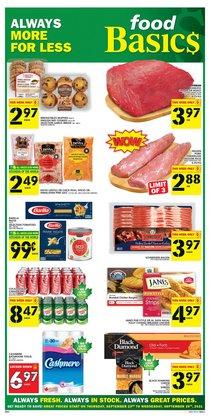 Food Basics catalogue ( Expires tomorrow)
