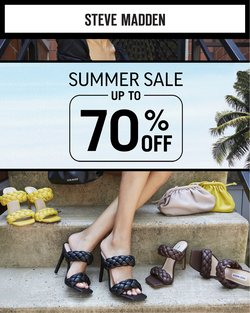 Luxury Brands deals in the Steve Madden catalogue ( Published today)