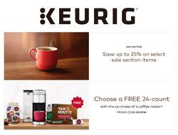 Keurig catalogue ( More than a month)