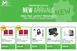 Electronics offers in the Memory Express catalogue ( 2 days left )