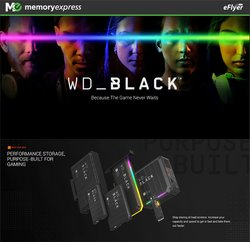 Electronics deals in the Memory Express catalogue ( Published today)