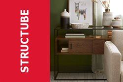 Structube deals in the Montreal flyer