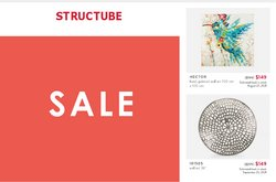 Home & Furniture deals in the Structube catalogue ( Published today)