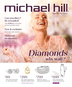 Michael Hill Jeweller catalogue ( Expired )