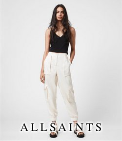 Clothing, Shoes & Accessories deals in the AllSaints catalogue ( Expires tomorrow)
