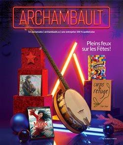 Archambault catalogue ( 3 days ago )