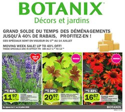 Botanix catalogue in Saint-Jean-sur-Richelieu ( 10 days left )