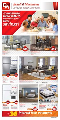 Braut & Martineau deals in the Montreal flyer