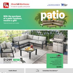 Home & Furniture deals in the Braut & Martineau catalogue ( More than a month)