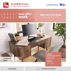 Braut & Martineau deals in the Braut & Martineau catalogue ( 18 days left)