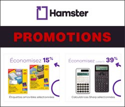 Hamster deals in the Hamster catalogue ( 15 days left)