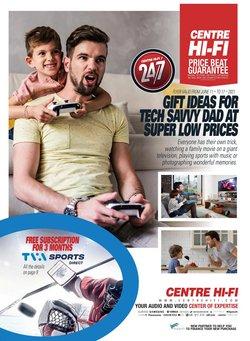 Electronics deals in the Centre Hi-Fi catalogue ( Expires tomorrow)