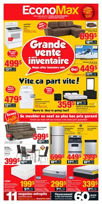 Electronics & Appliances offers in the EconoMax Plus catalogue in Saint-Jérôme
