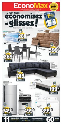 Electronics & Appliances offers in the EconoMax Plus catalogue in Montreal