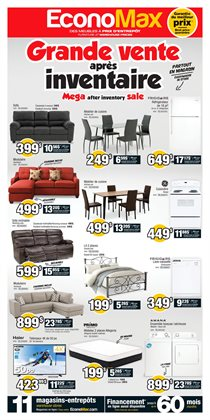 Electronics & Appliances offers in the EconoMax Plus catalogue in Joliette