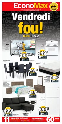 Electronics offers in the EconoMax Plus catalogue in Drummondville