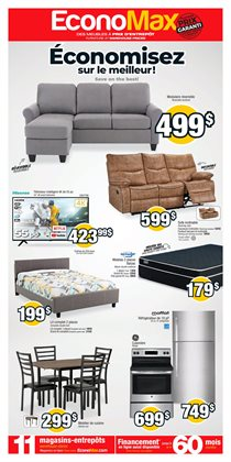 Electronics offers in the EconoMax Plus catalogue in Granby ( 3 days ago )