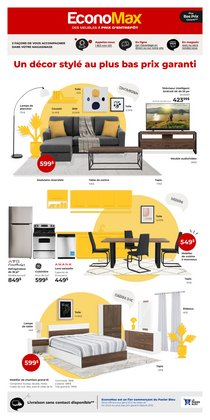 Electronics deals in the EconoMax Plus catalogue ( Expires today)