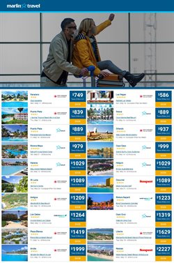 Travel offers in the Marlin Travel catalogue in Toronto ( 15 days left )