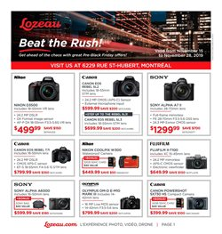Electronics offers in the Lozeau catalogue in Montreal