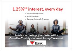 Banks deals in the Canadian Tire Bank catalogue ( 28 days left)