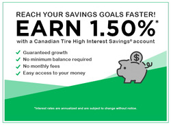 Canadian Tire Bank coupon ( 3 days left )