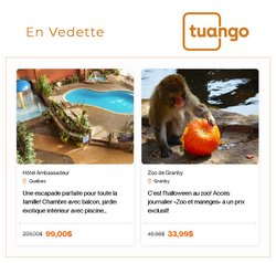 Travel deals in the Tuango catalogue ( More than a month)