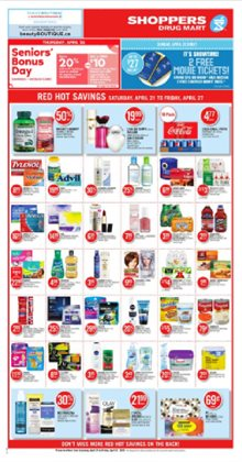 Pharmacy & Beauty offers in the Pharmaprix catalogue in Kanata
