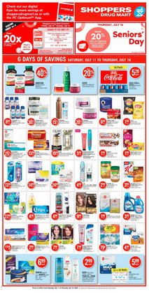 Pharmacy & Beauty offers in the Pharmaprix catalogue in Montreal ( Expires tomorrow )