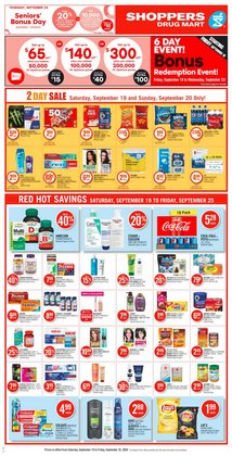 Pharmacy & Beauty offers in the Pharmaprix catalogue in Montreal ( Expires today )