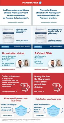 Pharmaprix catalogue in Ottawa ( Expired )