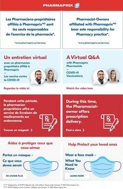 Pharmaprix catalogue ( Published today )