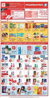Pharmaprix deals in the Pharmaprix catalogue ( Expires tomorrow)