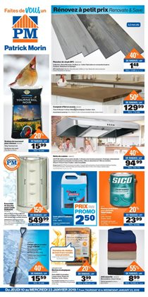 Home & furniture offers in the Patrick Morin catalogue in Saint-Jérôme