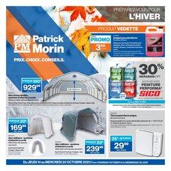 Patrick Morin deals in the Patrick Morin catalogue ( Expires tomorrow)