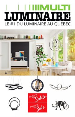 Multi Luminaire deals in the Quebec flyer