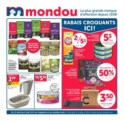 Grocery offers in the Mondou catalogue in Victoriaville