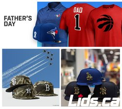 Clothing, Shoes & Accessories deals in the Lids catalogue ( Expires today)