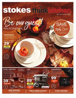 Home & Furniture deals in the Stokes catalogue ( Published today)