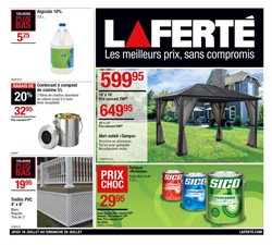 Garden & DIY offers in the Laferté catalogue in Drummondville