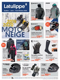 Latulippe deals in the Quebec flyer