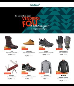 Sport offers in the Latulippe catalogue in Toronto ( 5 days left )