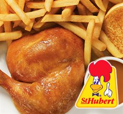 St-Hubert deals in the Montreal flyer