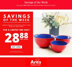 Christmas deals in the Ares catalogue ( Expires tomorrow)