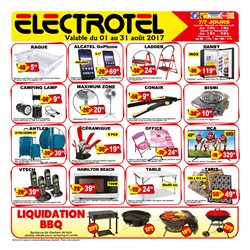 Electro Tel deals in the Montreal flyer