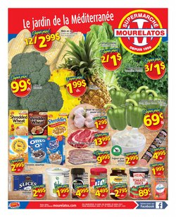 Grocery deals in the Mourelatos catalogue ( 1 day ago)