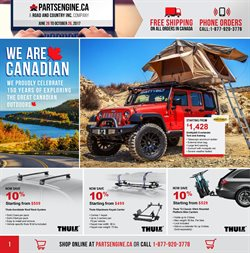Cars, motorcycles & spares offers in the Parts Engine catalogue in Toronto