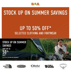 Sport deals in the Sail catalogue ( 19 days left)