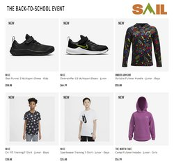 Nike deals in the Sail catalogue ( 5 days left)