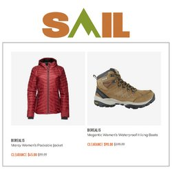 Sport deals in the Sail catalogue ( 3 days left)